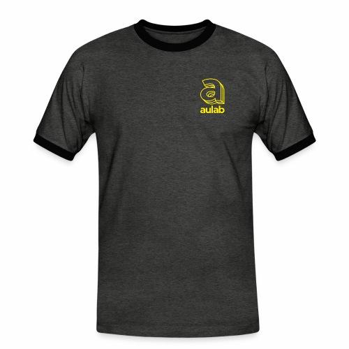 Marchio aulab giallo - Maglietta Contrast da uomo