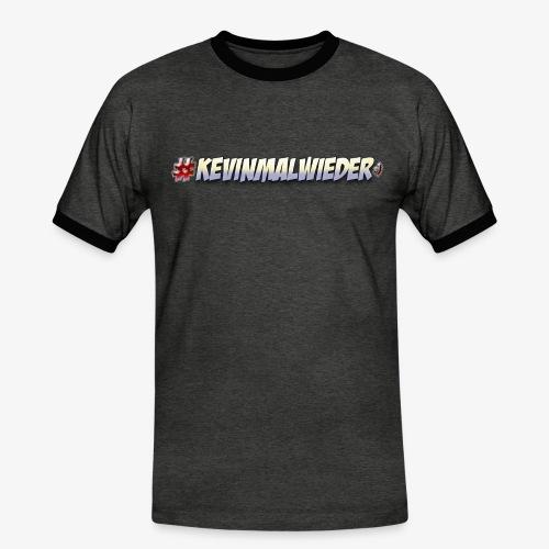 #Kevinmalwieder Logo NEU ! - Männer Kontrast-T-Shirt