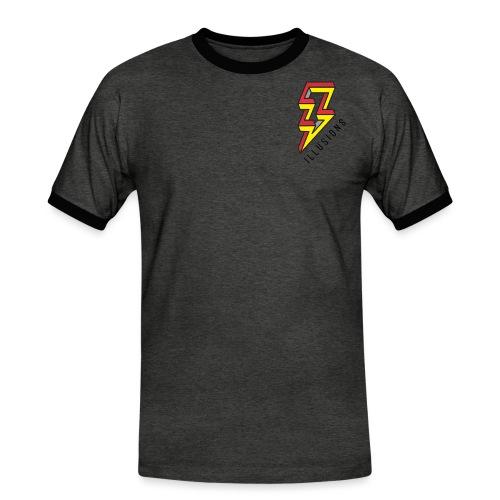 ♂ Lightning - Männer Kontrast-T-Shirt