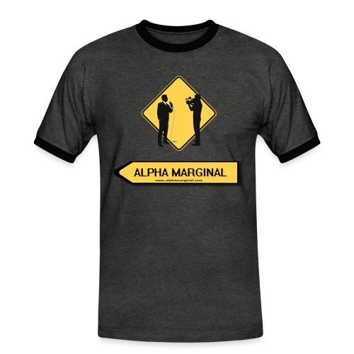 Alpha Marginal - T-shirt contrasté Homme
