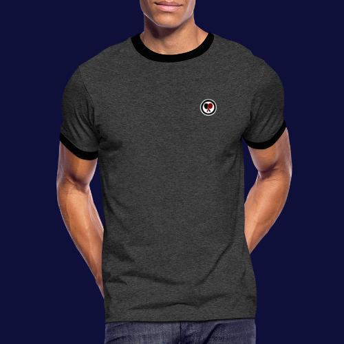 MINILOGO R/S - Männer Kontrast-T-Shirt