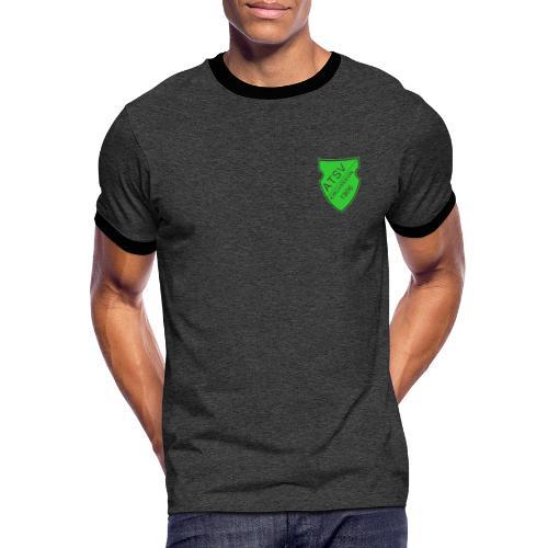 ATSV Wappen - Männer Kontrast-T-Shirt