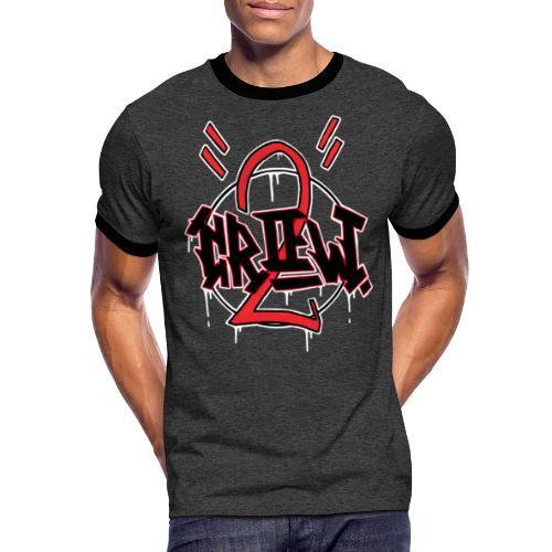 STREET CRŒW - T-shirt contrasté Homme