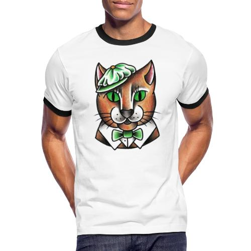 Swingcat - Maglietta Contrast da uomo