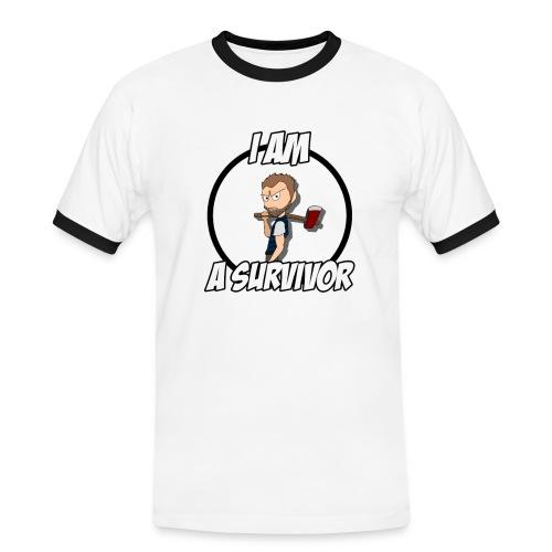 Game Survivant - T-shirt contrasté Homme