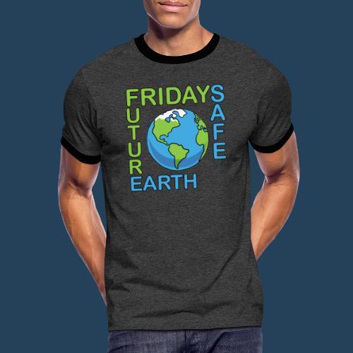 Safe Our Earth - Männer Kontrast-T-Shirt