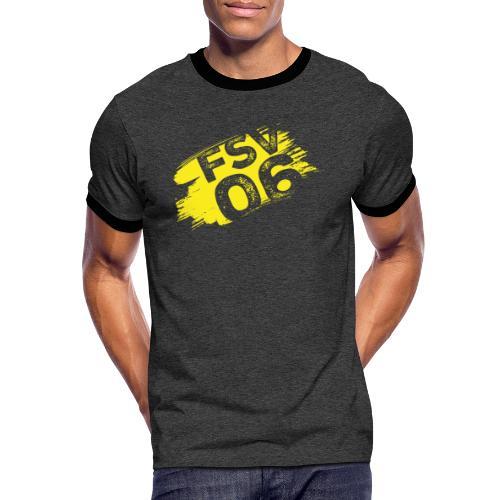 Hildburghausen FSV 06 Graffiti gelb - Männer Kontrast-T-Shirt