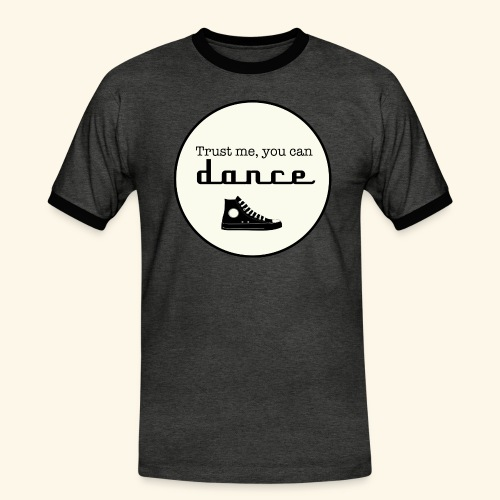 Trust me, you can dance - T-shirt contrasté Homme