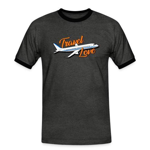 Travel love Air - Camiseta contraste hombre
