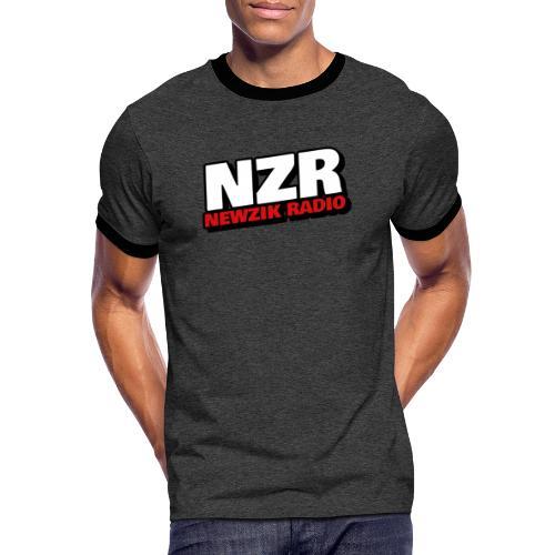 NZR - T-shirt contrasté Homme