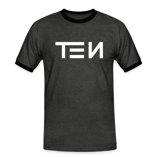 TEN Classic - Männer Kontrast-T-Shirt