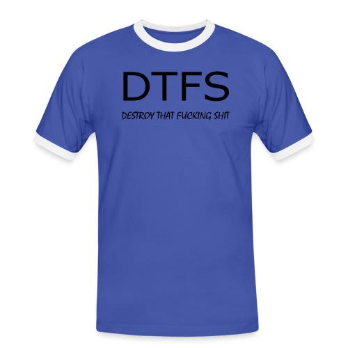 DeThFuSh - Men's Ringer Shirt