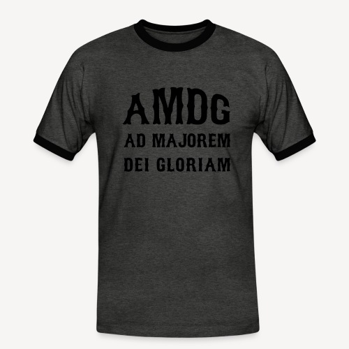 AMDG - Men's Ringer Shirt