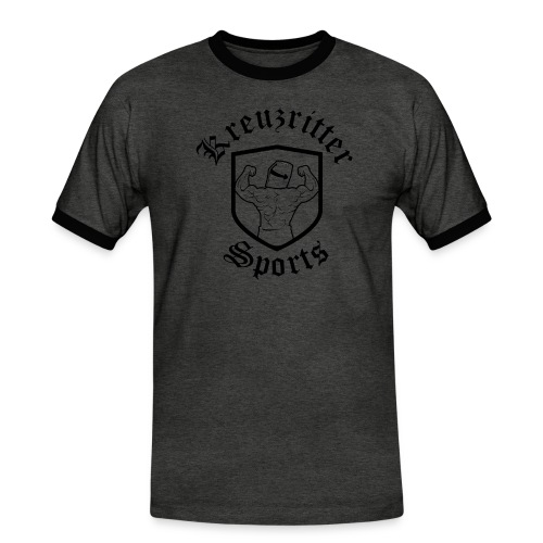 Kreuzritter Sports - Männer Kontrast-T-Shirt