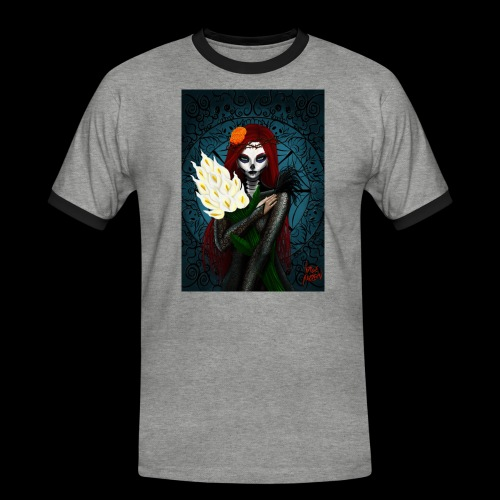 Death and lillies - Men's Ringer Shirt
