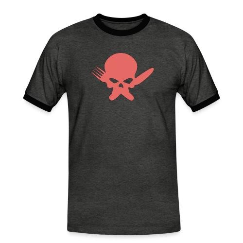 Skull Collection | FatLadFood - Men's Ringer Shirt
