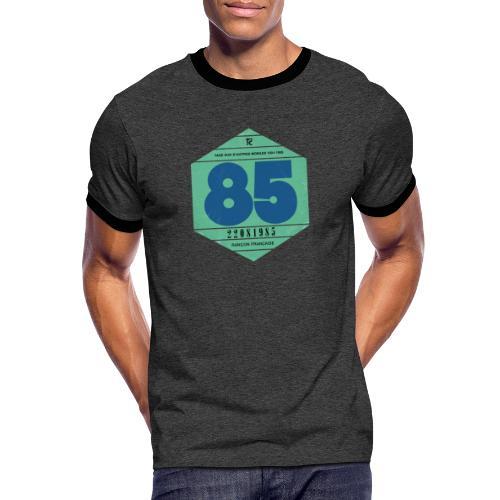 Vignette automobile 1985 - T-shirt contrasté Homme