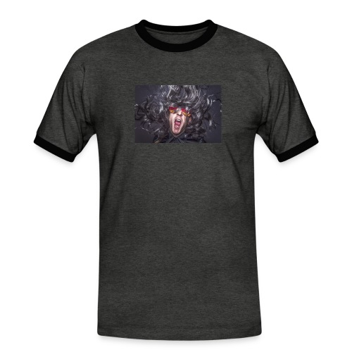 Party - Männer Kontrast-T-Shirt