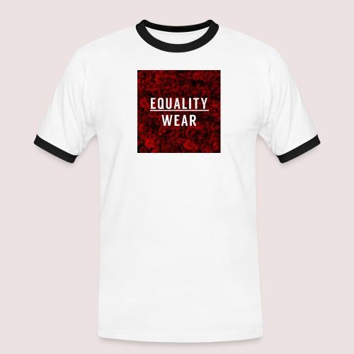 Equality Wear Rose Print Edition - Men's Ringer Shirt