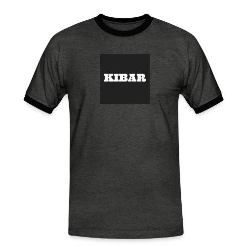 KIBAR - Herre kontrast-T-shirt