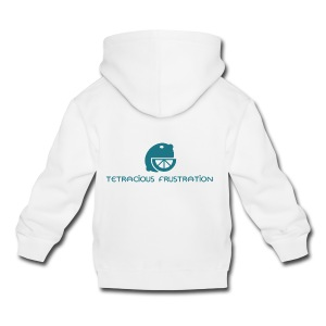 Coloured Tetracious Logo - Kids' Premium Hoodie
