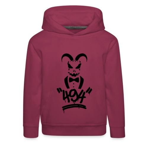 494 black - Kinder Premium Hoodie