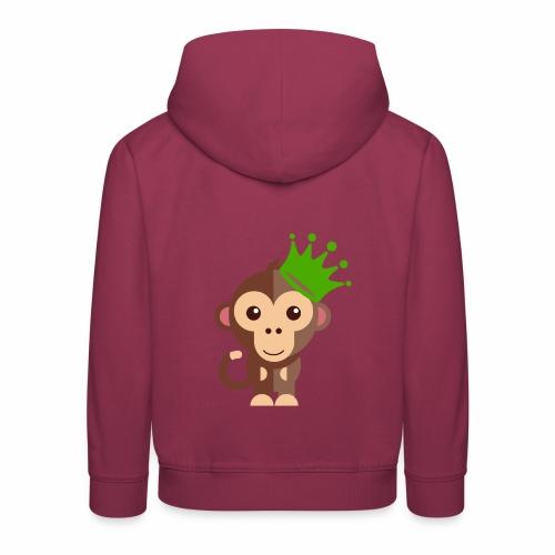 Kleins Äffchen - Kinder Premium Hoodie