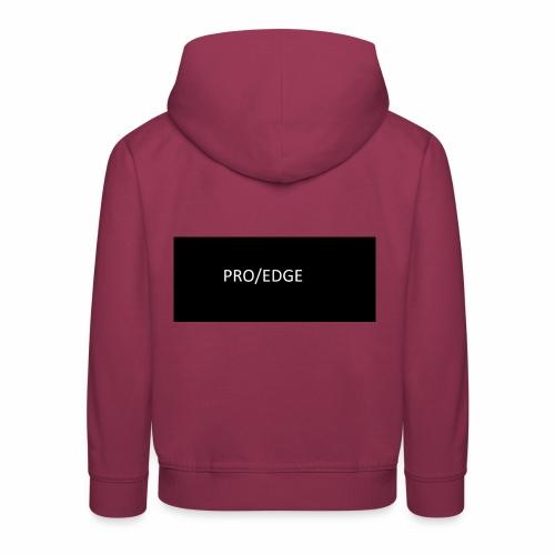 PRO/EDGE - Kinder Premium Hoodie