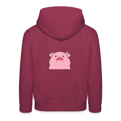 pig clothes - Premium hættetrøje til børn