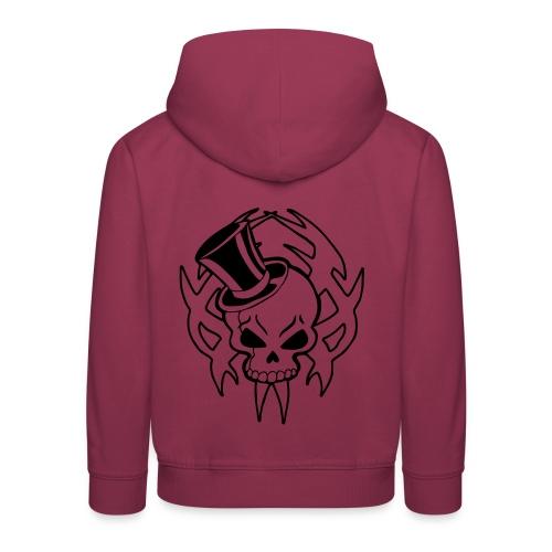 snazzy skull - Kids' Premium Hoodie