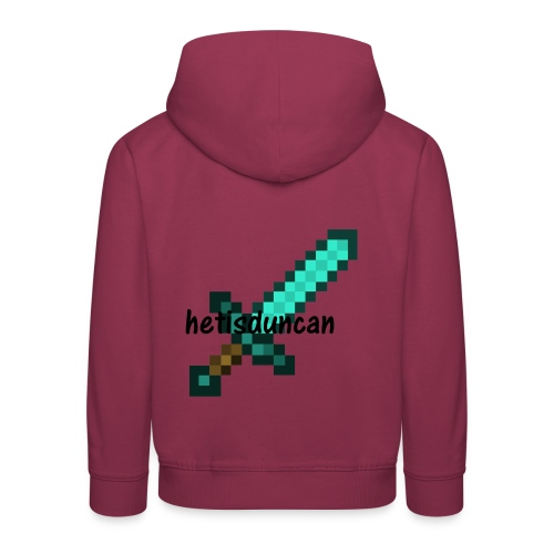 minecraft shirts - Kinderen trui Premium met capuchon
