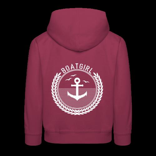 BoatGirl - Anchor - Kinder Premium Hoodie