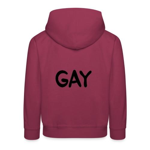 GAY - Kids' Premium Hoodie