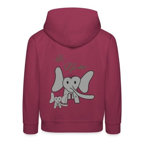 Eles Elefanten - Kinder Premium Hoodie