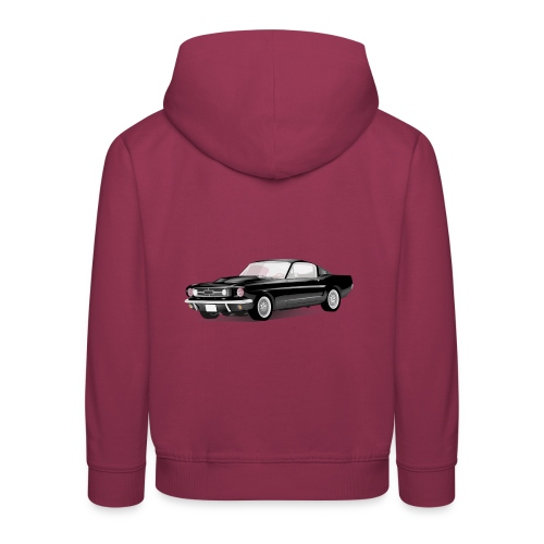 sport auto - Kinderen trui Premium met capuchon