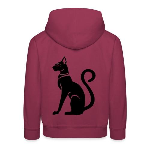 Bastet - Katzengöttin im alten Ägypten - Kinder Premium Hoodie