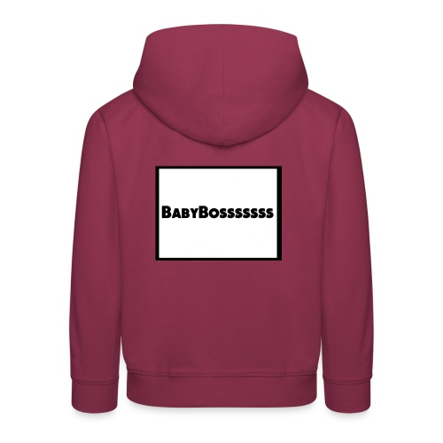 BabyBosssssss - Kids' Premium Hoodie