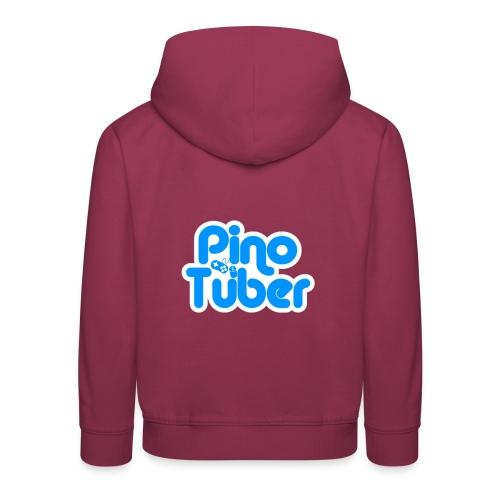 New logo Pinotuber - Kinderen trui Premium met capuchon