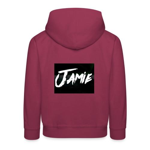 Jamie - Kinderen trui Premium met capuchon