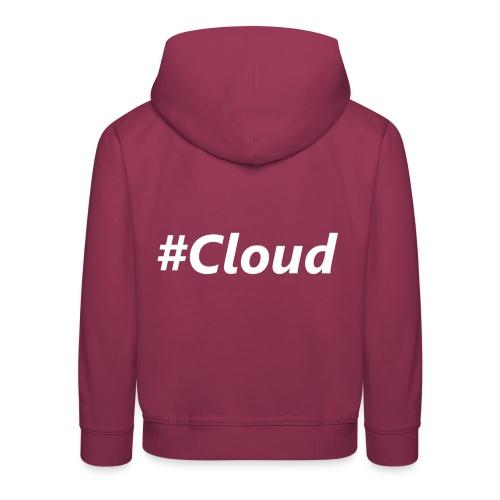 #Cloud White - Kinder Premium Hoodie