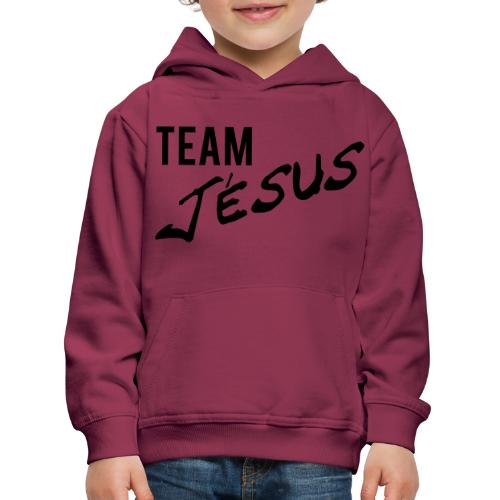 Team Jésus - Pull à capuche Premium Enfant