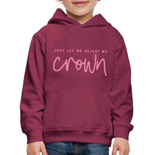 Crown pink - Kids' Premium Hoodie