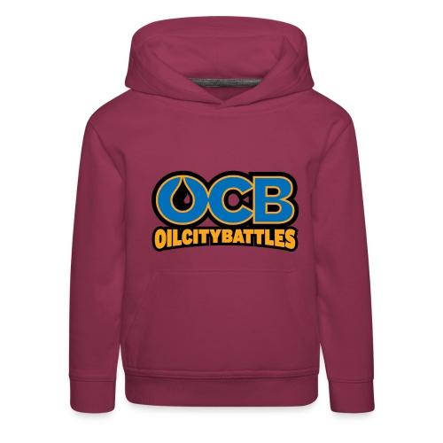ocb logo - Kinder Premium Hoodie