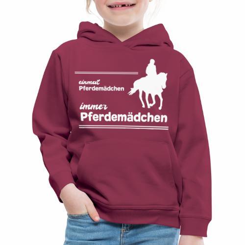 Pferdemädchen Reiten Geschenk Mädchen Pferde - Kinder Premium Hoodie
