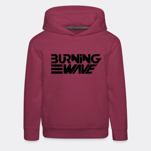 Burning Wave Block - Pull à capuche Premium Enfant