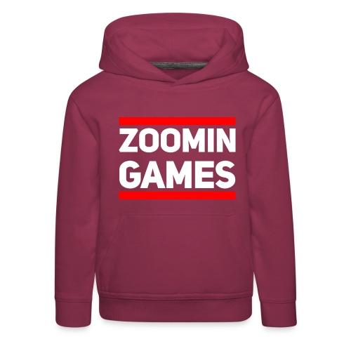 9815 2CRun ZG White - Kids' Premium Hoodie