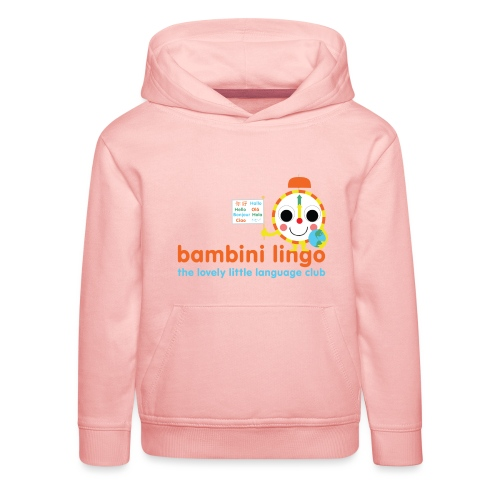 bambini lingo - the lovely little language club - Kids' Premium Hoodie