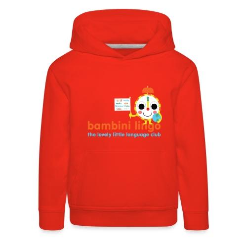 bambini lingo - the lovely little language club - Kids' Premium Hoodie