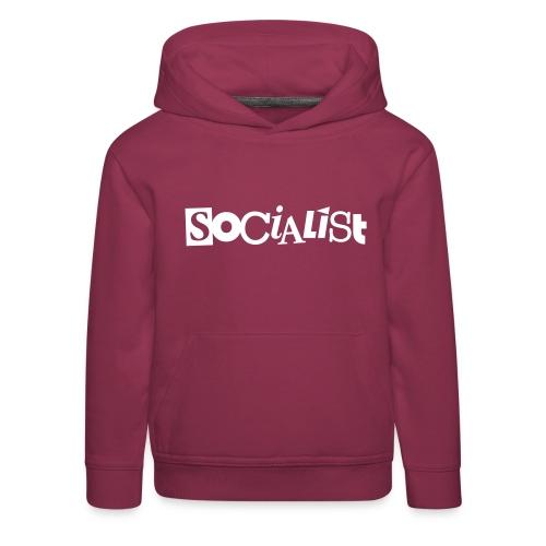 Socialist - Kinder Premium Hoodie