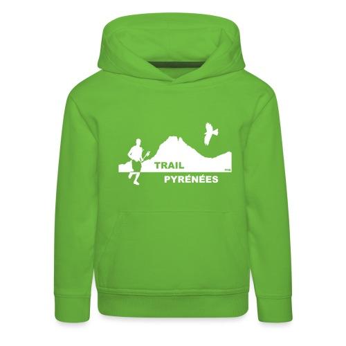 Trail Pyrénées sans Manches F1 - Pull à capuche Premium Enfant